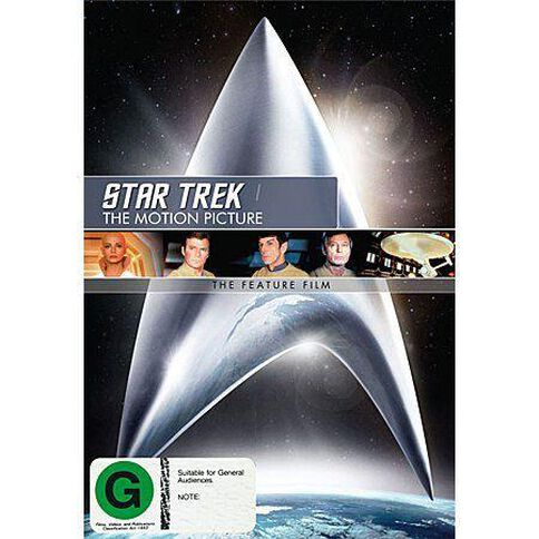 Star Trek I Motion Picture The Remastered DVD 1Disc