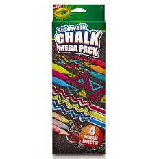 Crayola Chalk Mega Pack