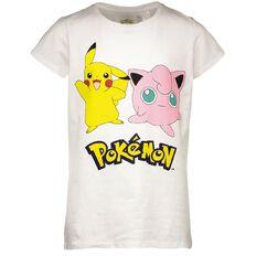 Pokemon Girls' Print Front Tee