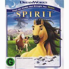 Spirit Stallion of the Cimarron Blu-ray 1Disc