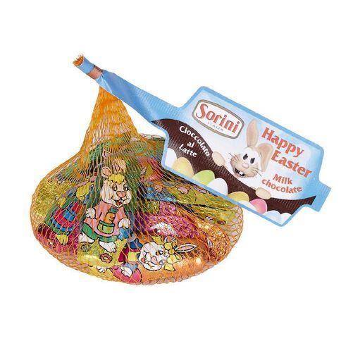Sorini Milk Chocolate Bunnies in Mesh Bag 80g