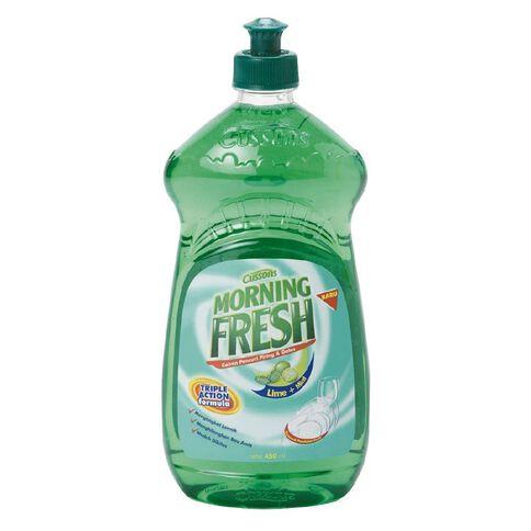 Morning Fresh Dishwash Liquid Lime 450ml