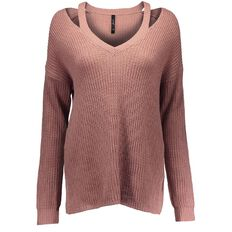Garage Cut Out V-Neck Jumper