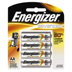 Energizer Advanced Battery AA 8 Pack