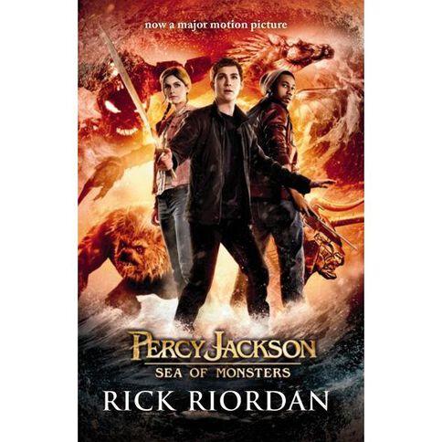 Percy Jackson #2 Sea of Monsters Film Tie-in by Rick Riordan