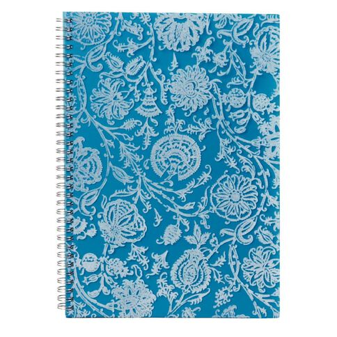 Spirax 532 Flocked PP Notebook A4 240 Pages