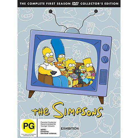The Simpsons Season 1 DVD 3Disc