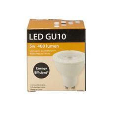 UniLED Degree Beam Angle GU10 5W 400 Lumens Natural White 38