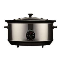 Kensington Slow Cooker Stainless Steel 6L