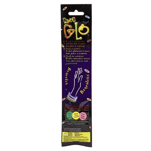 Neon Glow Glow Bracelet 3 Pack