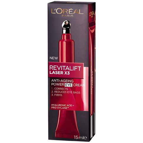L'Oreal Paris Revitalift Laser X3 Eye Cream 15ml