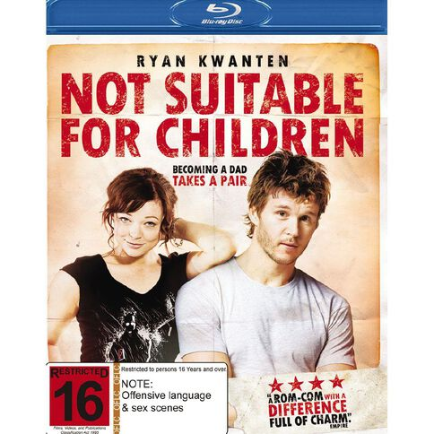 Not Suitable for Children Blu-ray 1Disc