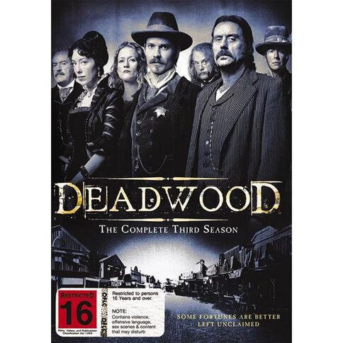 Deadwood Season 3 DVD 4Disc