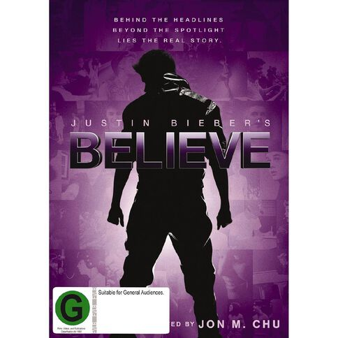 Justin Biebers Believe DVD 1Disc