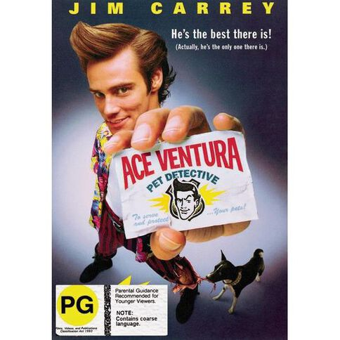 Ace Ventura Pet Detective DVD 1Disc