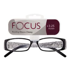 Focus Reading Glasses Classy Power 3.25