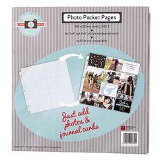 Rosie's Studio Rosie's Lifestyles 12in x 12in Pocket Pages Set 1 6 Piece