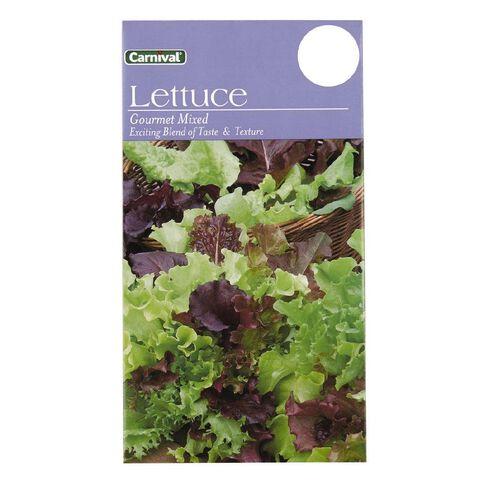 Carnival Seeds Gourmet Lettuce Vegetable