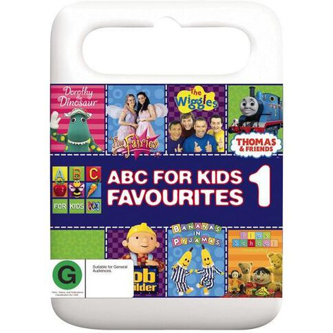 ABC For Kids Favourites 1 DVD 1Disc