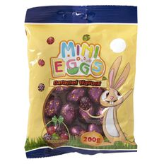 Candy Universe Solid Choc Eggs Caramel 200g