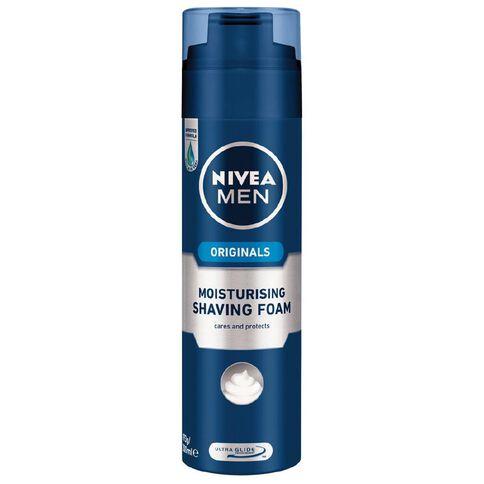 Nivea For Men Moisturising Shave Foam 200ml
