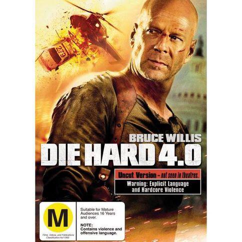 Die Hard 4.0 DVD 1Disc
