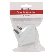 Necessities Brand Adapter Double