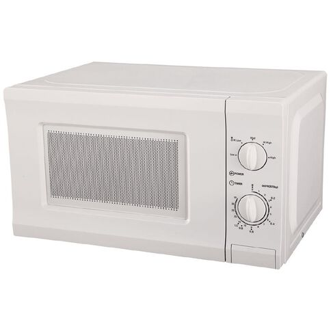 Necessities Brand Manual Microwave White 20L 700W