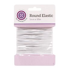 The Sewing Circle Elastic Round 1mm x 10m
