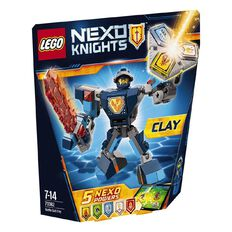 LEGO NEXO Knights Battle Suit Clay 70632