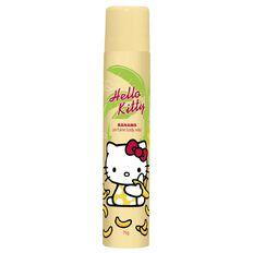 Hello Kitty Body Spray Banana 75g