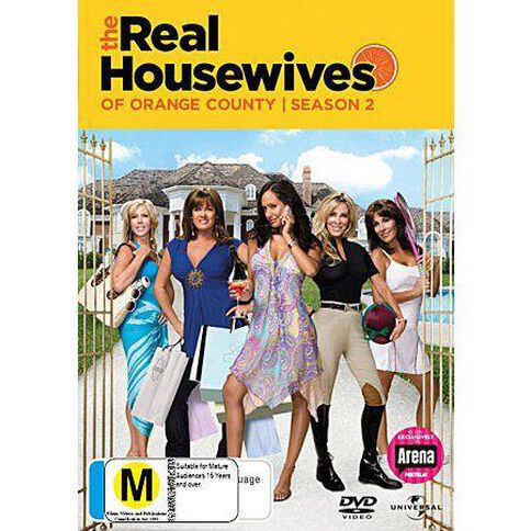 Real Housewives Of The Orange County Season 2 3DVD