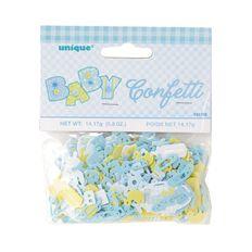 Unique Baby Shower Confetti Blue 5oz
