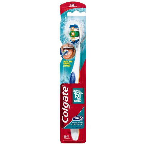 Colgate Toothbrush 360 Degree Soft Assorted