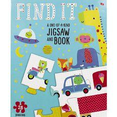 Jigsaw Book Slipcase Set: Find It