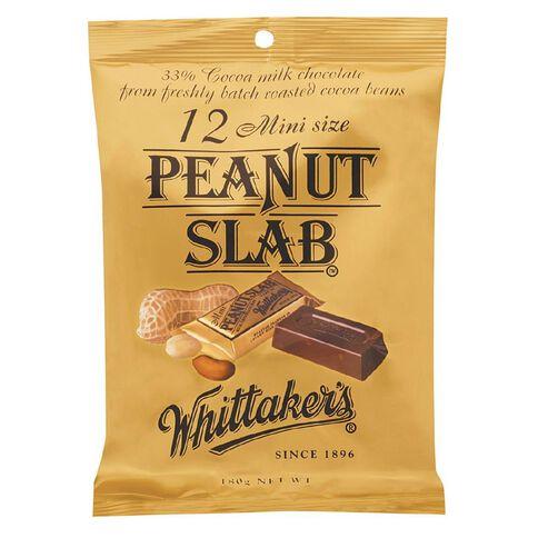 Whittaker's Mini Slab Peanut Share Pack