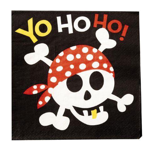 Unique Pirate Napkins 16 Pack