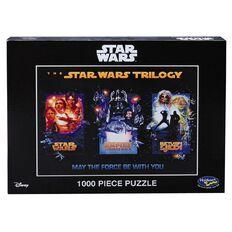 Star Wars Saga Trilogy Puzzle 1000 Pieces Assorted