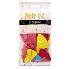 Party Inc Balloons Decorator Colours 25cm  Pack