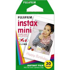 Fujifilm Instax Mini Film 20 Pack