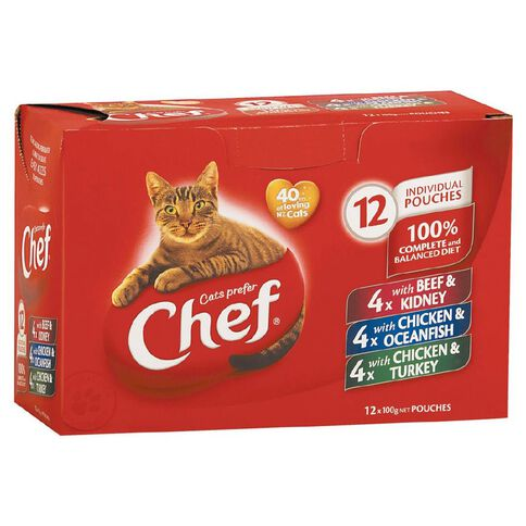 Chef Casserole Variety Pouches 12 Pack