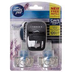 Ambi Pur Premium Clip Lavender Spa 2 Pack