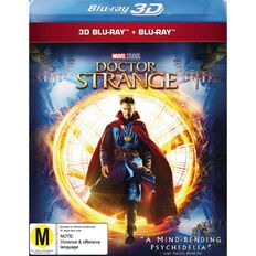 Doctor Strange 3D Blu-ray 2Disc