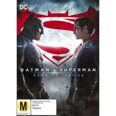 Batman v Superman Dawn of Justice DVD 1Disc