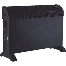 Necessities Brand Convector Heater 2000W Black