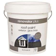 Renovator Plus Roof Paint Ironsand 10L