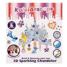 Kaleidoscope Decorate Your Own 3D Sparkling Chandelier