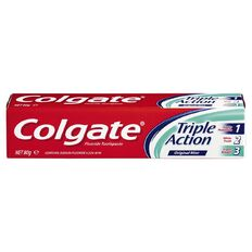 Colgate Triple Action Toothpaste 80g