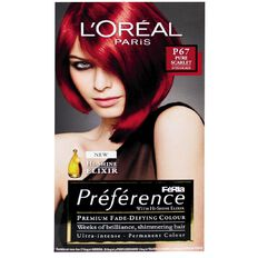 L'Oreal Paris Preference Feria Scarlet Intense P67