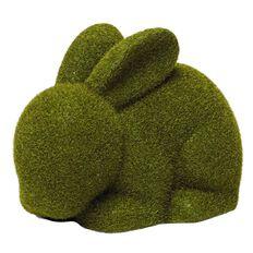Party Inc Easter Flocked Bunny 15cm x 9.5cm x 10.5cm